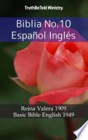 Biblia No.10 Español Inglés