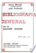 Bibliografía general de la nación jívaro