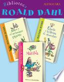 Biblioteca Roald Dahl (Pack 3 ebooks): Matilda, Charlie y la fábrica de chocolate y James y el melocotón gigante