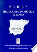 Bihes: Bibliografias de Historia de Espana