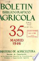 Boletín Bibliográfico Agricola