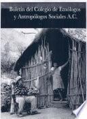 Boletín Colegio de Etnólogos y Antropólogos Sociales 2008
