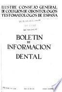 Boletín de información dental