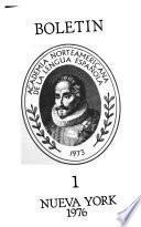 Boletín de la Academia Norteamericana de la Lengua Española