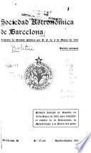 Boletin de la Sociedad Astronómica de Barcelona
