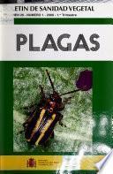 Boletín de sanidad vegetal, plagas