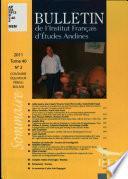 Boletín Del Instituto Francés de Estudios Andinos
