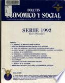 Boletín económico y social