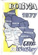 Bolivia, 1977 [i.e. mil novecientos setenta y siete]