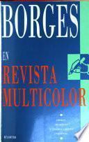 Borges en Revista multicolor