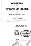 Bosquejo de la historia de Bolivia