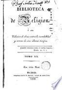 Bosquejo del Jansenismo ó sea disertación histórico- teológica sobre la secta y los errores del Jansenismo