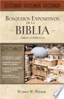 Bosquejos expositivos de la Biblia 5 Tomos en 1