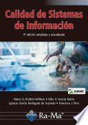 Calidad de Sistemas de Información. 4ª edición ampliada y actualizada