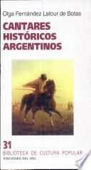Cantares historicos argentinos