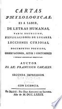 Cartas philologicas