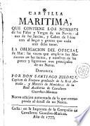 Cartilla maritima