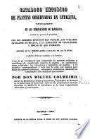 Catálogo metódico de plantas observadas en Cataluña