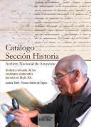 Catálogo Sección Historia, Archivo Nacional de Asunción