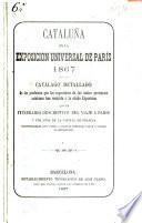 Cataluña en la Exposición Universal de Peris de 1867