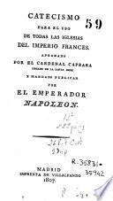 Catecismo para el uso de todas las iglesias del imperio francés