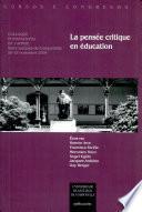 CC/153-La Pensée critique en éducation
