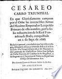 Cesareo carro triumphal