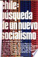 Chile: búsqueda de un nuevo socialismo