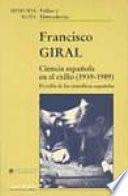 Ciencia española en el exilio (1939-1989)