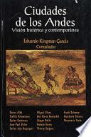 Ciudades de los Andes