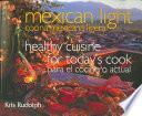 Cocina mexicana ligera