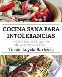 Cocina sana para intolerancias
