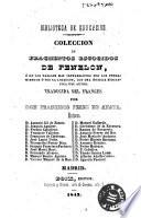 Coleccion de fragmentos escogidos de Fenelon