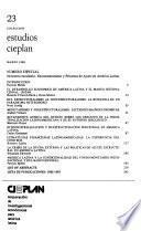 Colección estudios CIEPLAN.