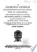 Colección general de las providencias