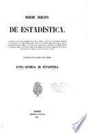 Colección legislativa de estadística