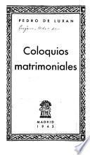 Coloquios matrimoniales