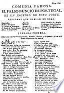 Comedia famosa, el Falso nuncio de Portugal