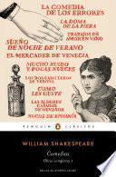 Comedias (Obra completa Shakespeare 1)