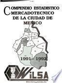 Compendio estadístico mercadotécnico de la Ciudad de México