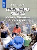 Comunidades rurales. Criterios y herramientas para su diagnóstico
