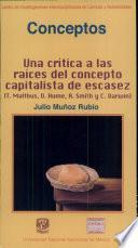 Conceptos: Una Critica a Las Raices Del Concepto Capitalista de Es