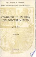 Congreso de Historia del Descubrimiento (1492-1556)
