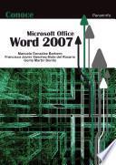 Conoce Microsoft Office Word 2007