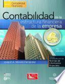 Contabilidad de la Estructura Financiera de la Empresa, 4a.Ed.