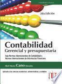 Contabilidad gerencial y presupuestaria, 2a.Edición