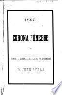 Corona funebre del general Juan Ayala