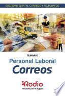 Correos. Personal Laboral. Temario