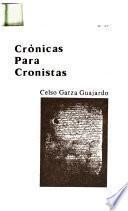 Crónicas para cronistas