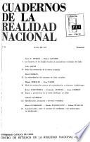 Cuadernos de la realidad nacional